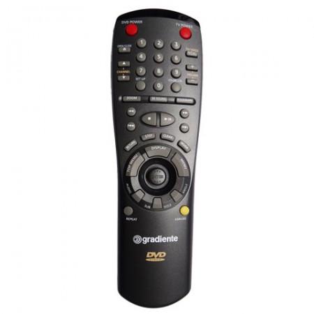 Controle Remoto GRADIENTE DVD D12A