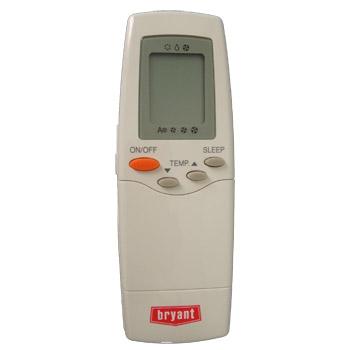 Controle Remoto Bryant / Carrier ar condicionado