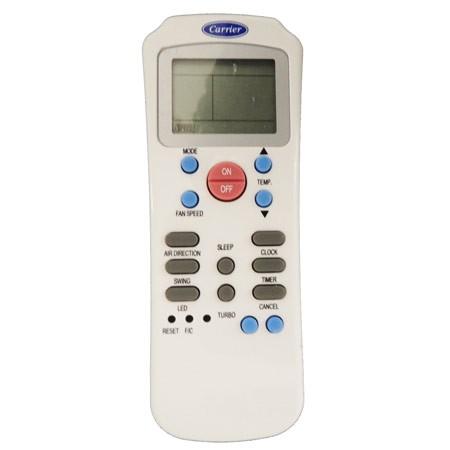 controle remoto CARRIER/SPRINGER R14A/CE Linha Split 9000/22000btus