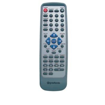 Controle Remoto Gradiente DVD D202