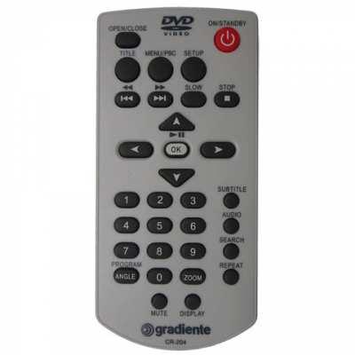 Controle Remoto Gradiente DVD D203