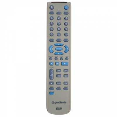Controle Remoto Gradiente DVD D470