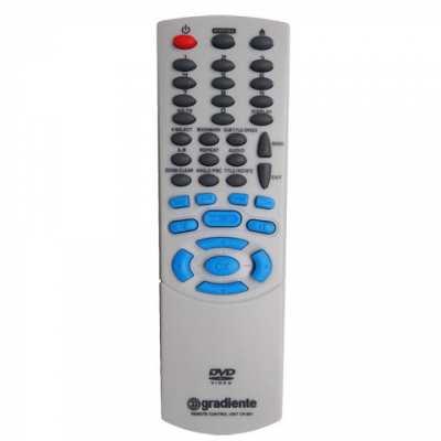 Controle Remoto Gradiente DVD D681