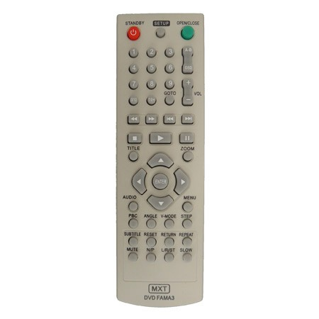 Controle Remoto Britânia DVD fama 3
