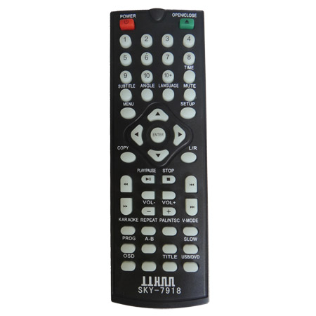 Controle Remoto DVD ILKON/similar