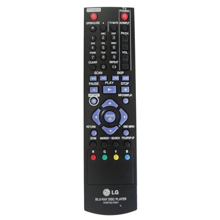 Controle Remoto LG Blu-Ray