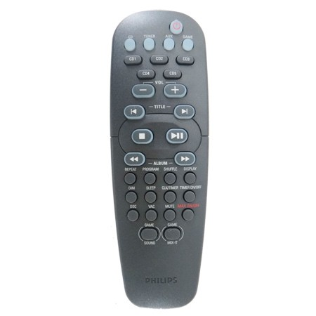 CONTROLE REMOTO PARA SOM MICRO SYSTEMS PHILIPS FWC577/589