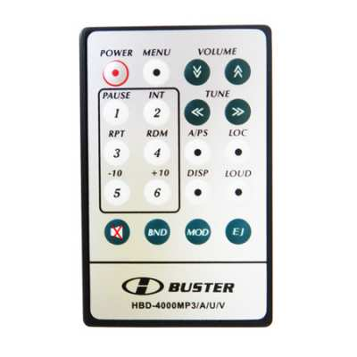 Controle Remoto HBuster HBD4000