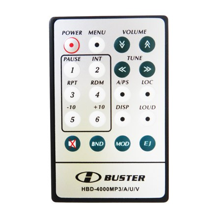Controle Remoto HBuster HBD4000