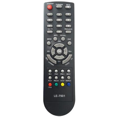 Controle Remoto Conversor AQUÁRIO DTV8000
