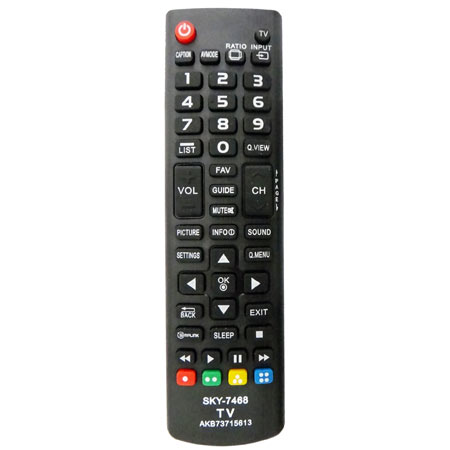 Controle Remoto LG LCD AKB73715613