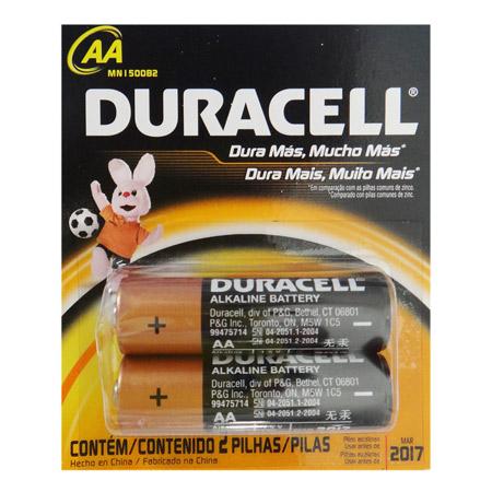 Pilha Duracell AA x 2 unids.