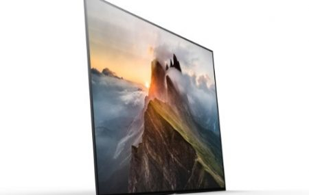 Nova televisão da Sony