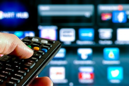 Controle remoto smart tv